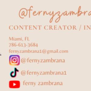 @fernyzambrana's profile picture on influence.co