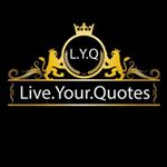 @live.your.quotes's profile picture on influence.co