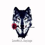 @lonewolf_sayings's profile picture on influence.co