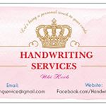 @handwriting_services_13's profile picture on influence.co