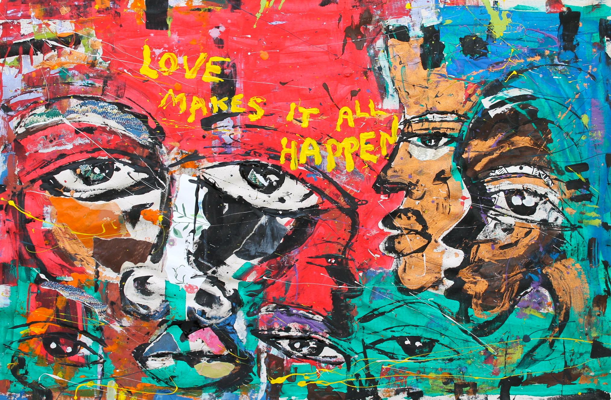 Miles regis love makes it all happen 28 x 44