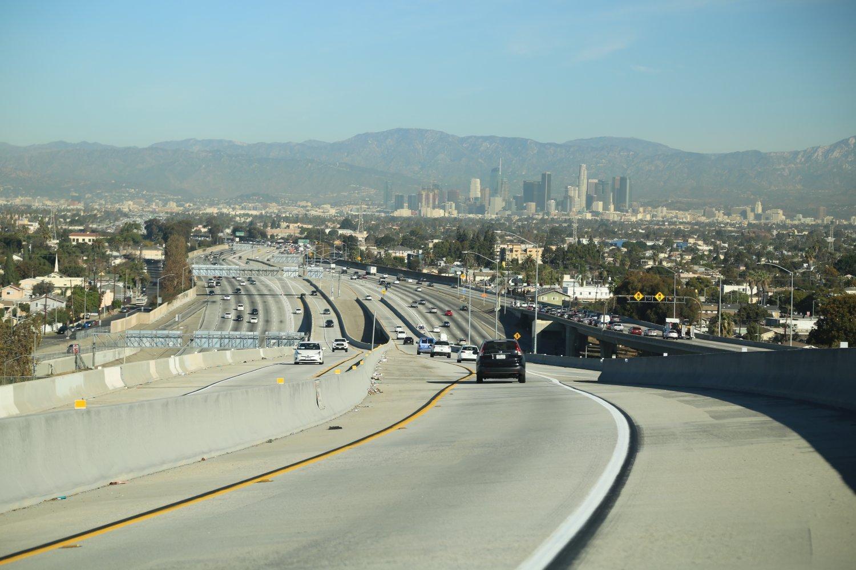 Hov 105 freeway los angeles