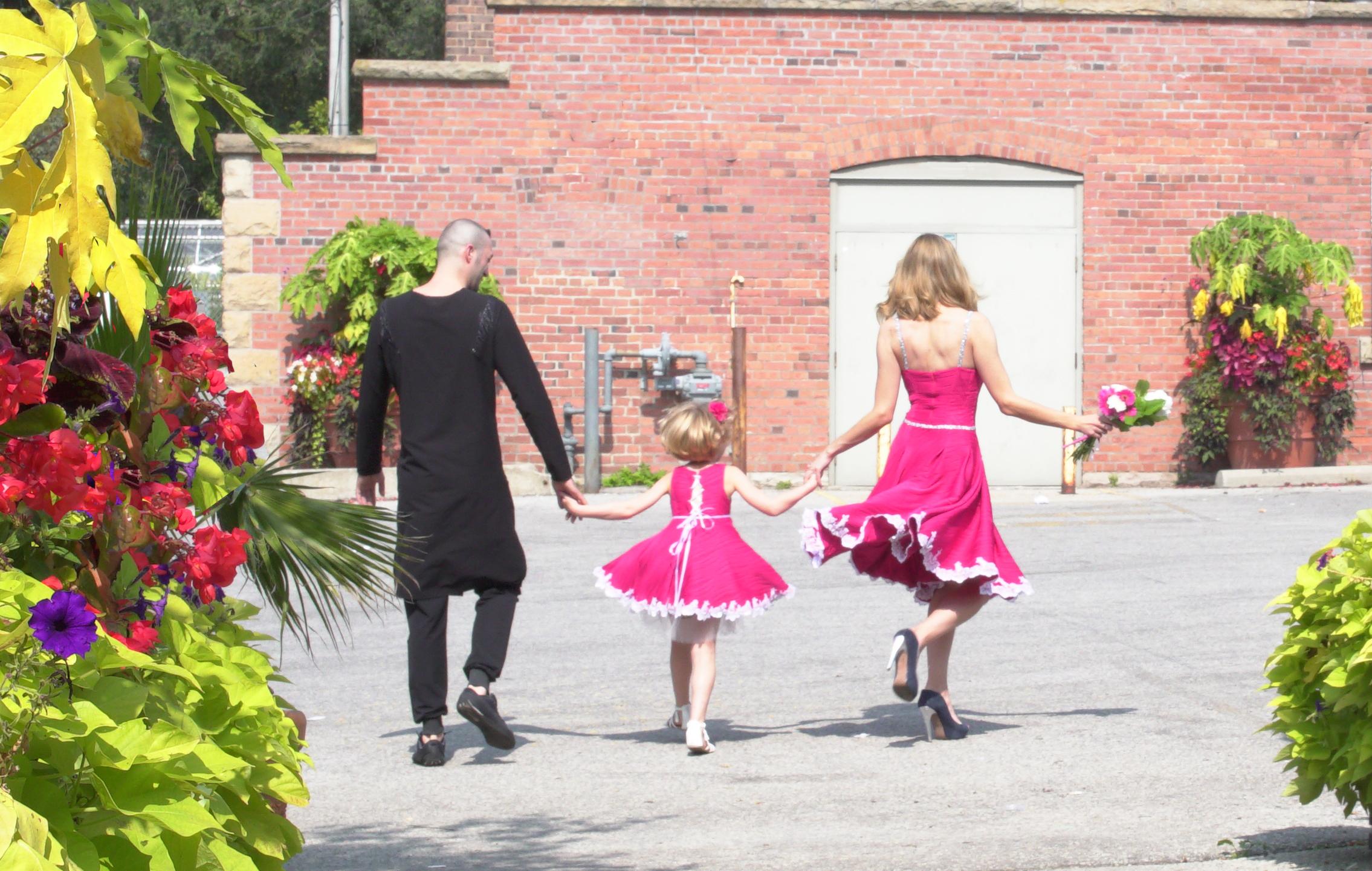 James serino   allen gardens   wedding   bridal   serino   pink