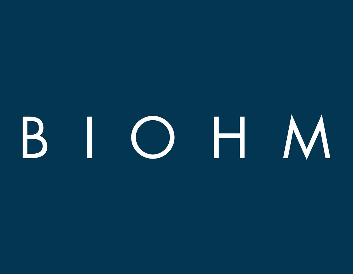 Biohm navywhitelogo