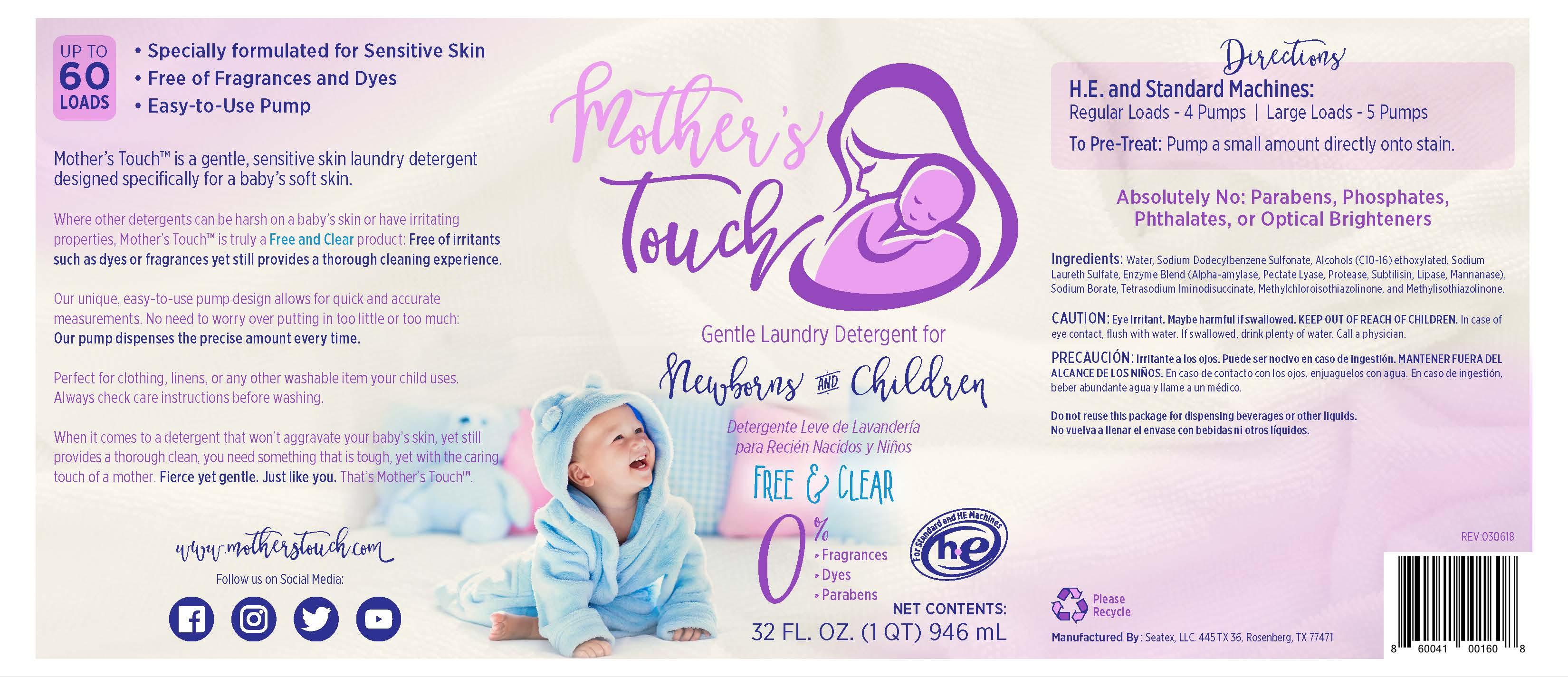 Mother s touch  interim  label jpg