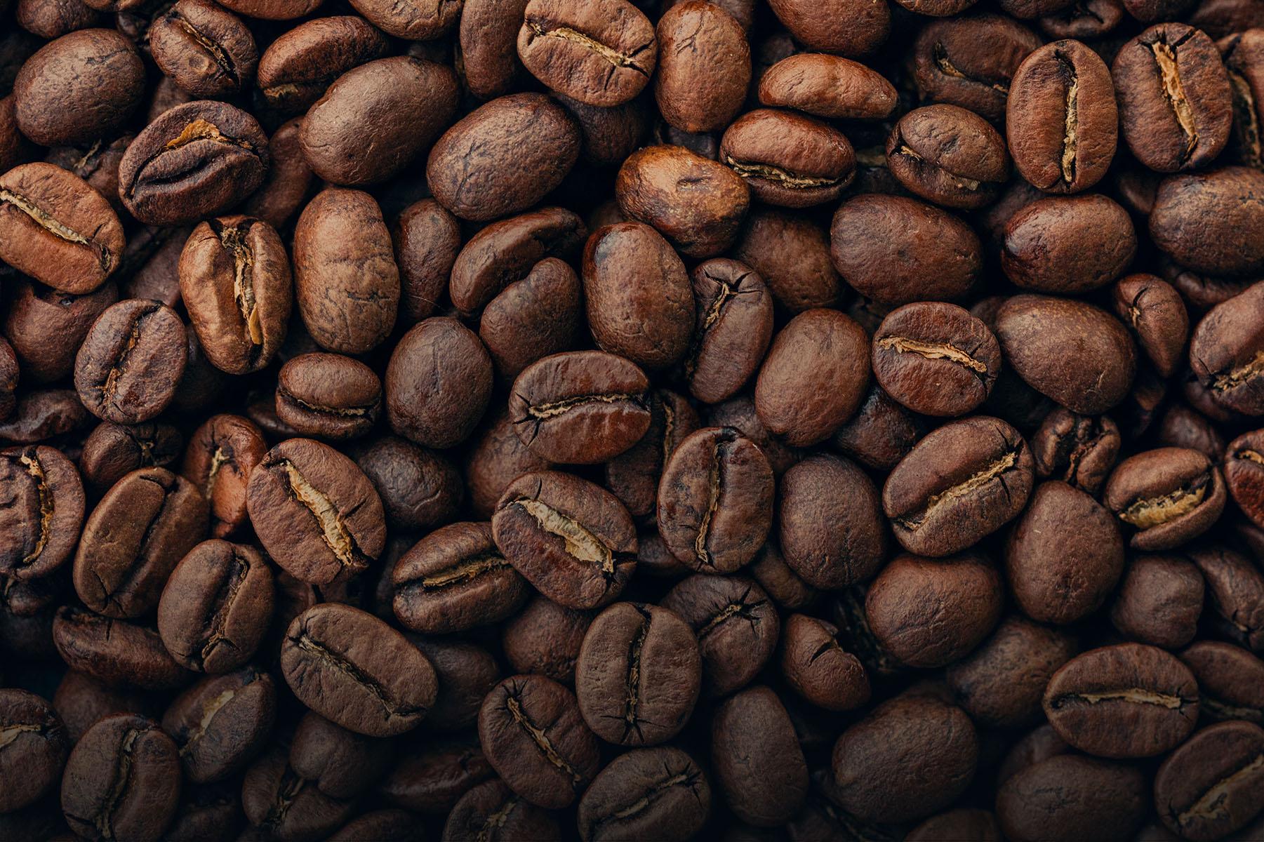 Purity organic coffee beans hero