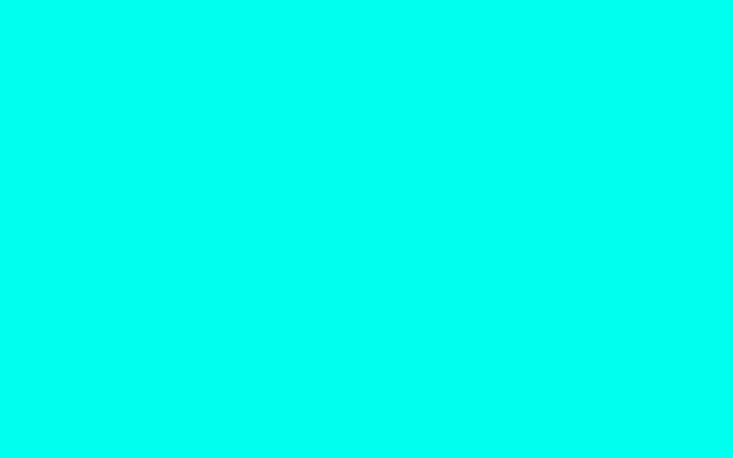 2560x1600 turquoise blue solid color background