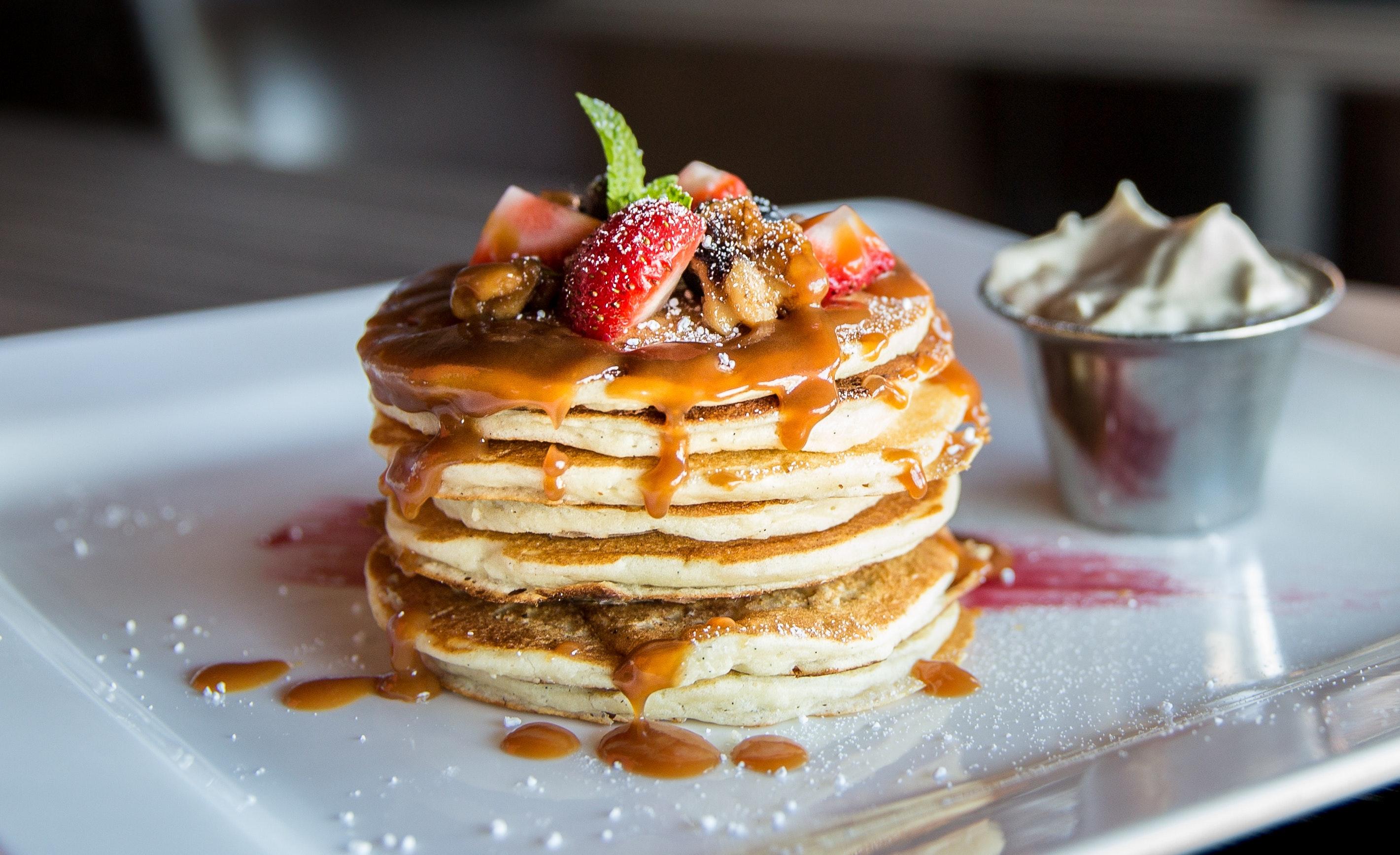 Blur breakfast close up 376464