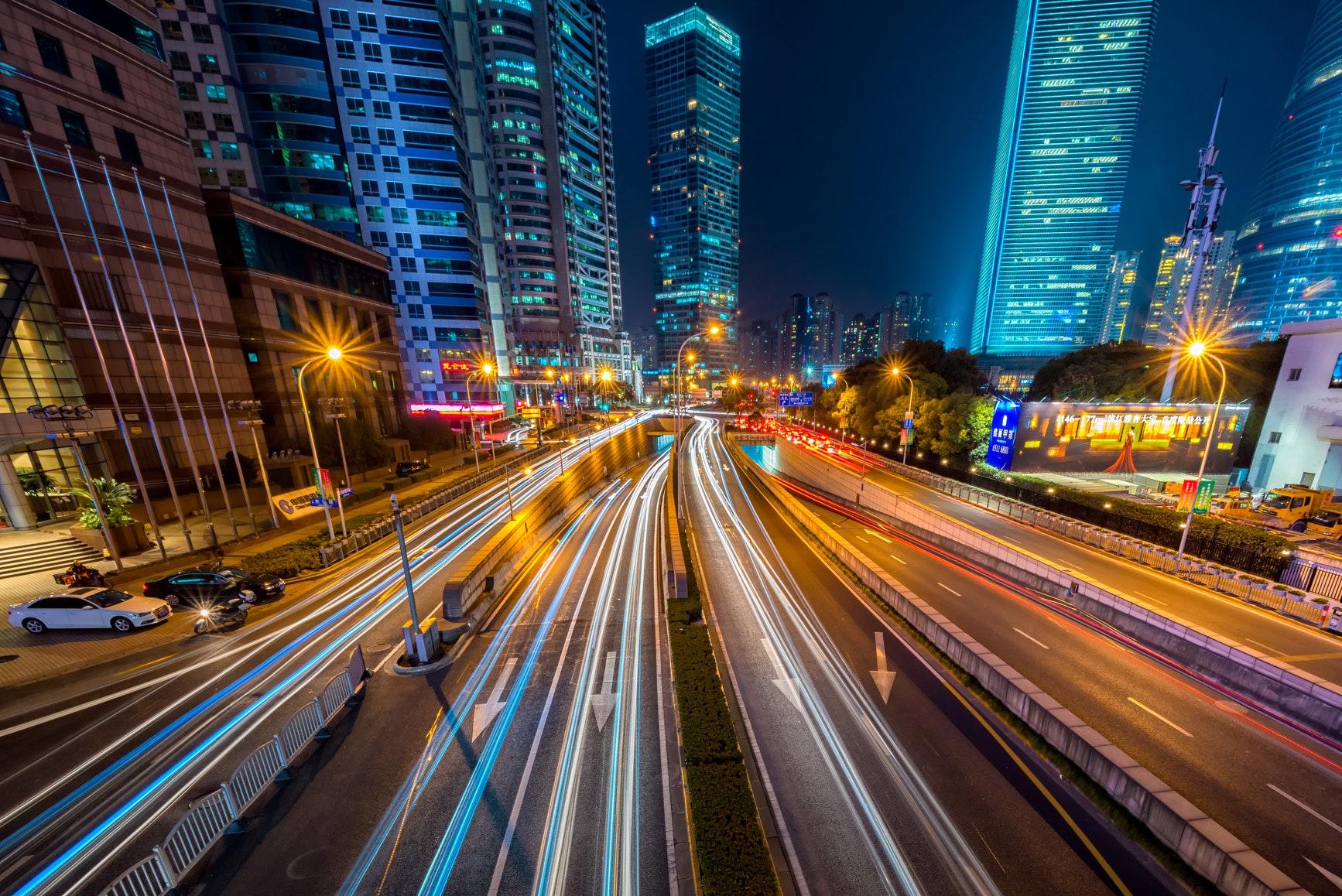 Buildings cars city 169677