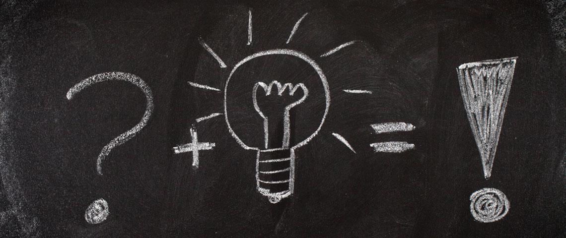 Philosophy chalkboard