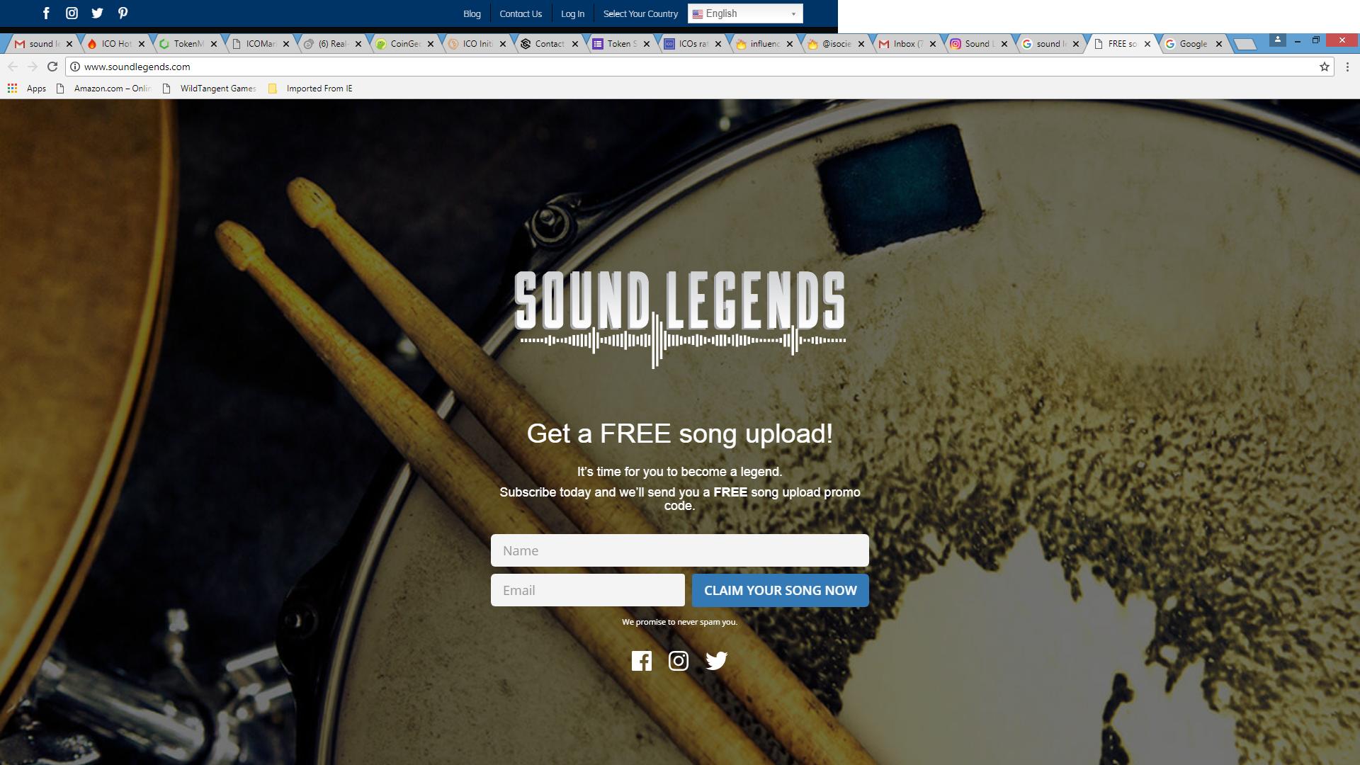 Sound legends background 2