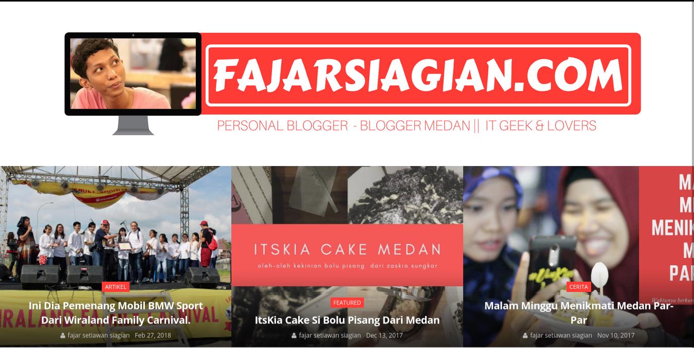 Fajar siagian   blogger medan
