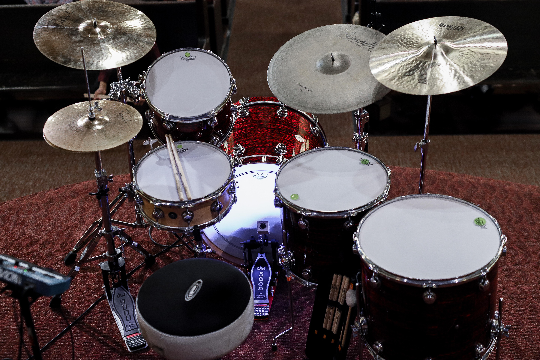 Drum set recital
