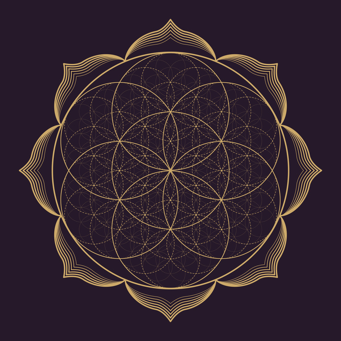 3 ways to appreciate sacred geometry in your life flower of life planet27music