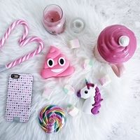 Square thumb mojipower poopink unicorn01