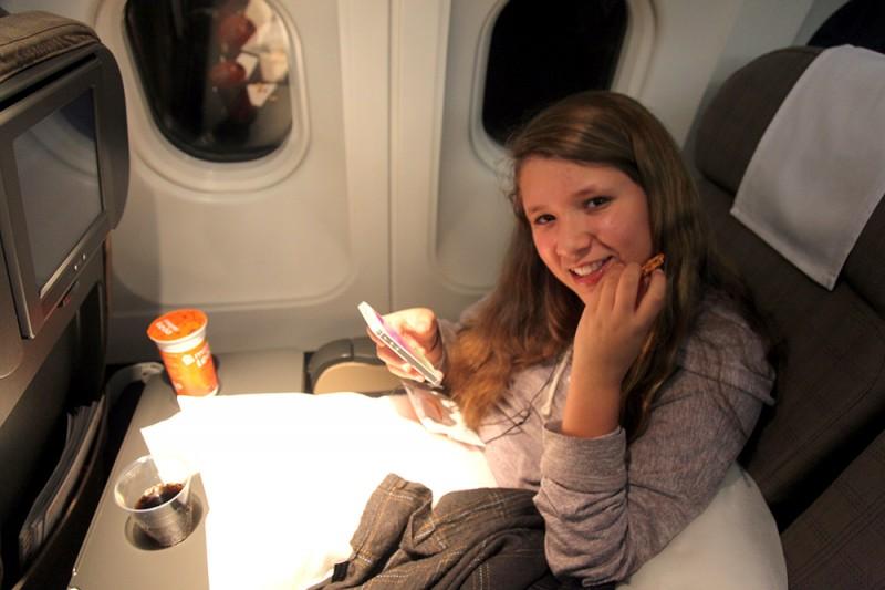 @jujunatripblog's cover photo for 'Como é voar na classe econômica da Swiss Airlines'