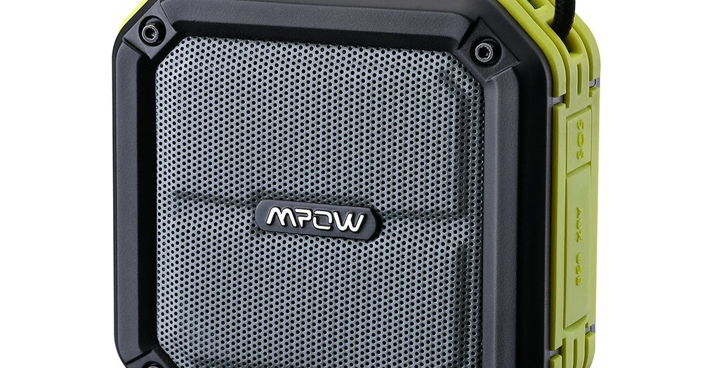 @metallman's cover photo for 'Mpow AquaPro Wireless Bluetooth Speaker Review'