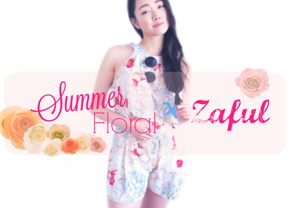 @polkad0tsbeauty's cover photo for 'Summer Floral X Zaful'