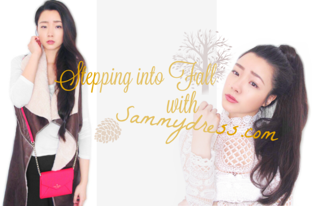 @polkad0tsbeauty's cover photo for 'Stepping into Fall with Sammydress.com'