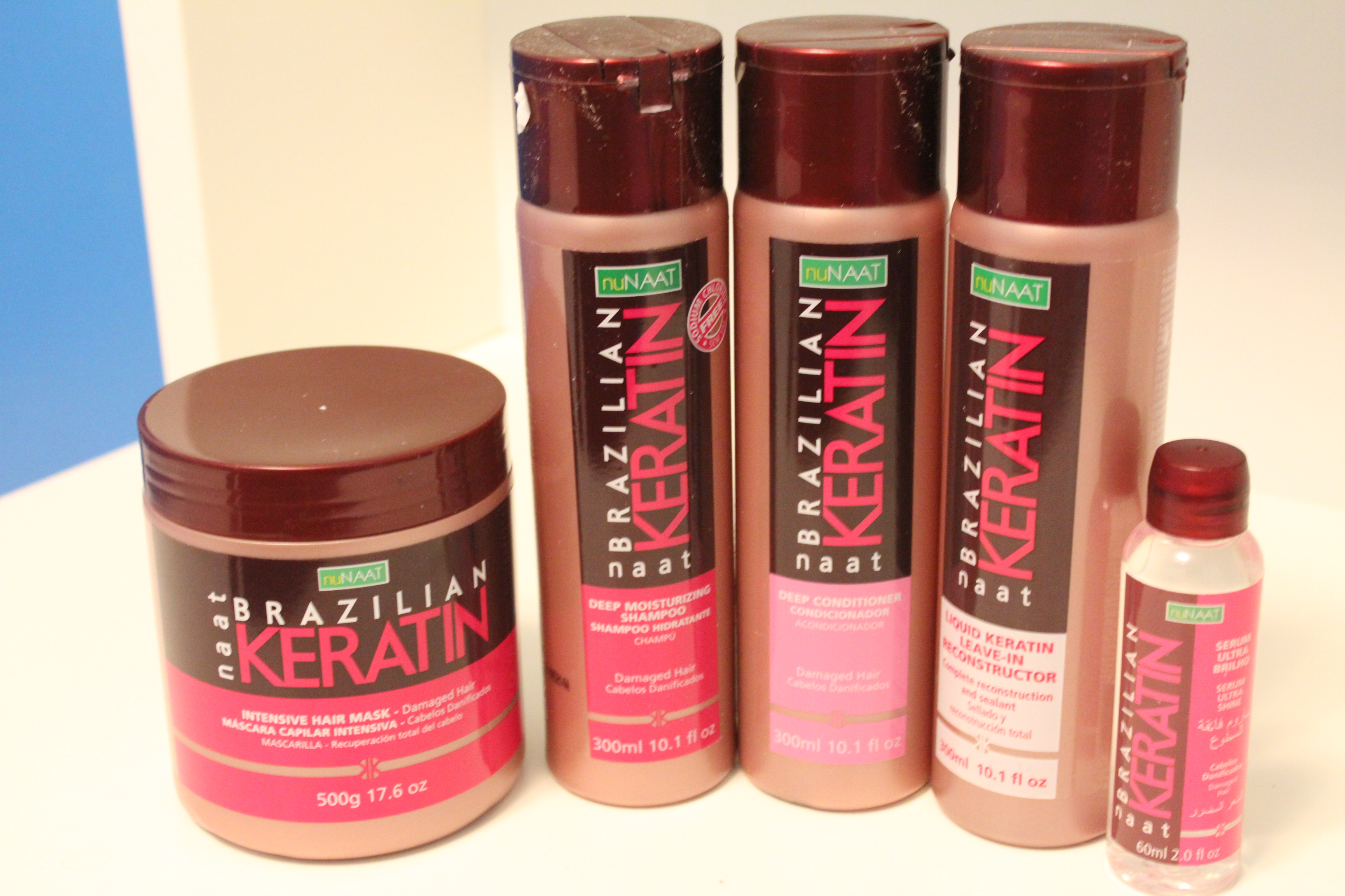 @healthynrelaxed's cover photo for 'Review | Naat Brazilian Keratin Line - Healthy & Relaxed'