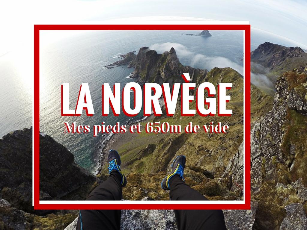 @1001pas's cover photo for 'Norvège, mes pieds et 650m de vide - Blog outdoor 1001 pas'