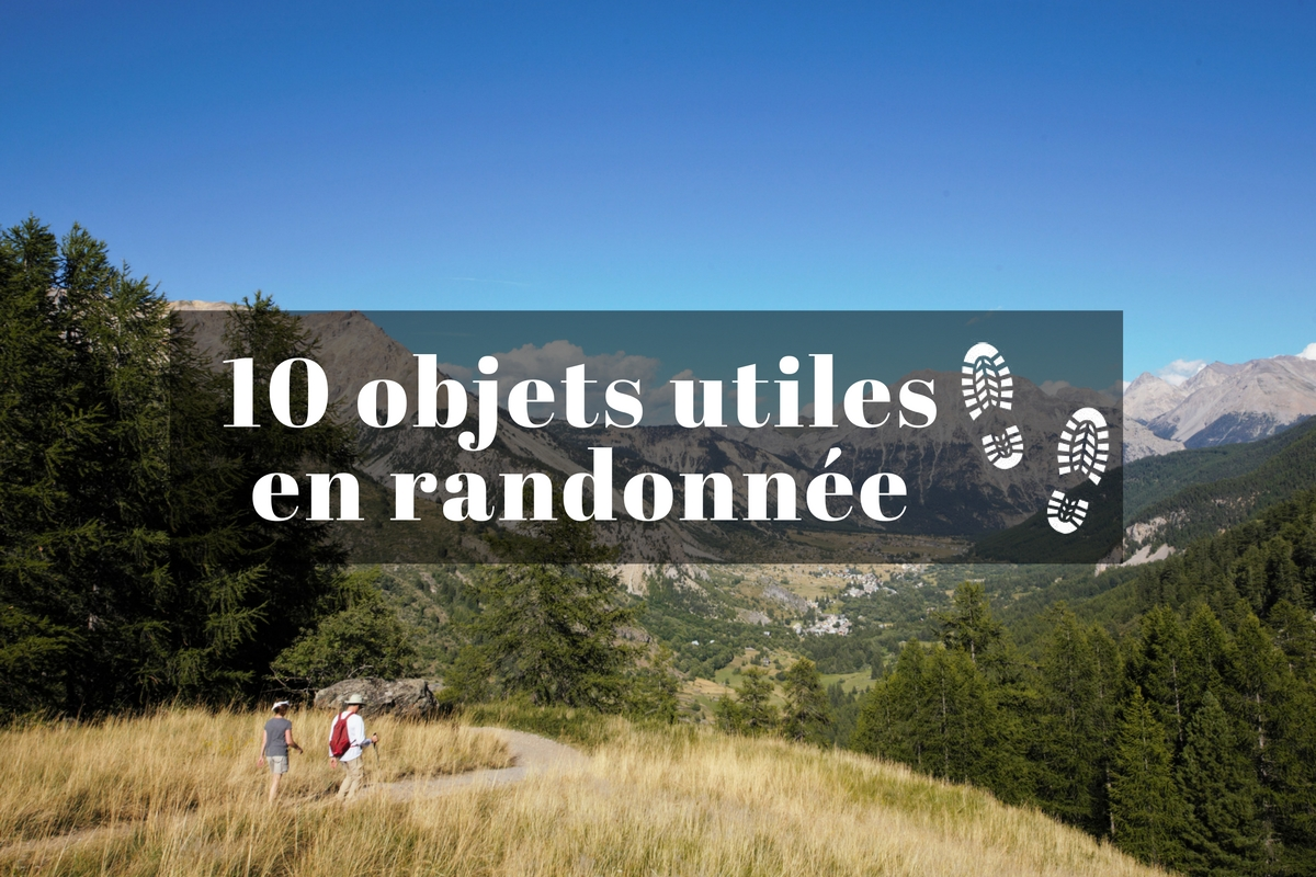 @1001pas's cover photo for '10 objets utiles à prendre en randonnée'