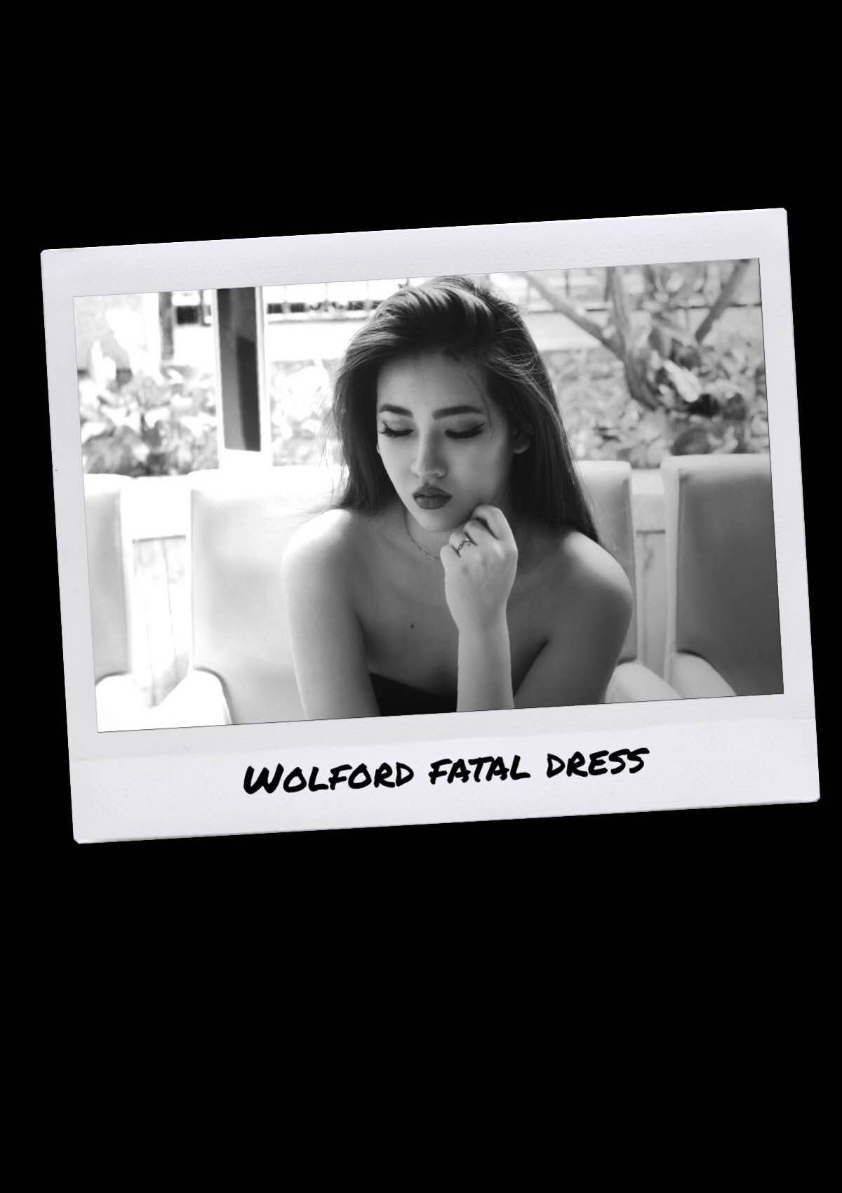 @annlouieli's cover photo for 'WOLFORD : FATAL DRESS'