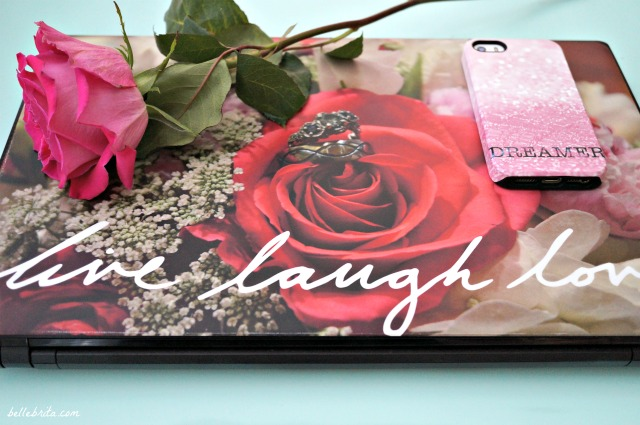 @belle_brita's cover photo for 'Pinkify Your Laptop & iPhone | CaseApp Review | Belle Brita'