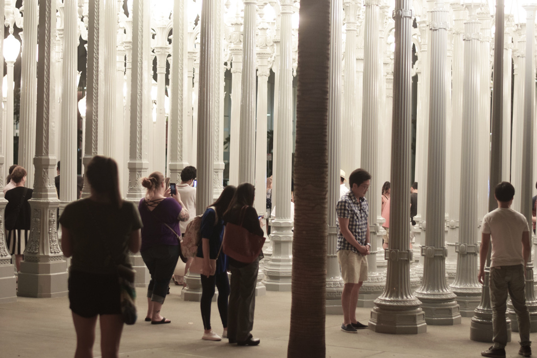 @lifeofaneventplanner's cover photo for 'Urban Light at LACMA - Los Angeles, CA'