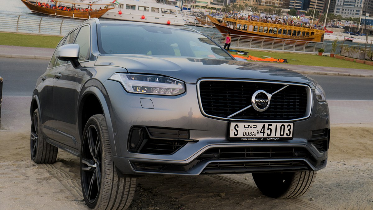 @autoscommunity's cover photo for 'Review: Volvo XC90 T8 R-Design Polestar'