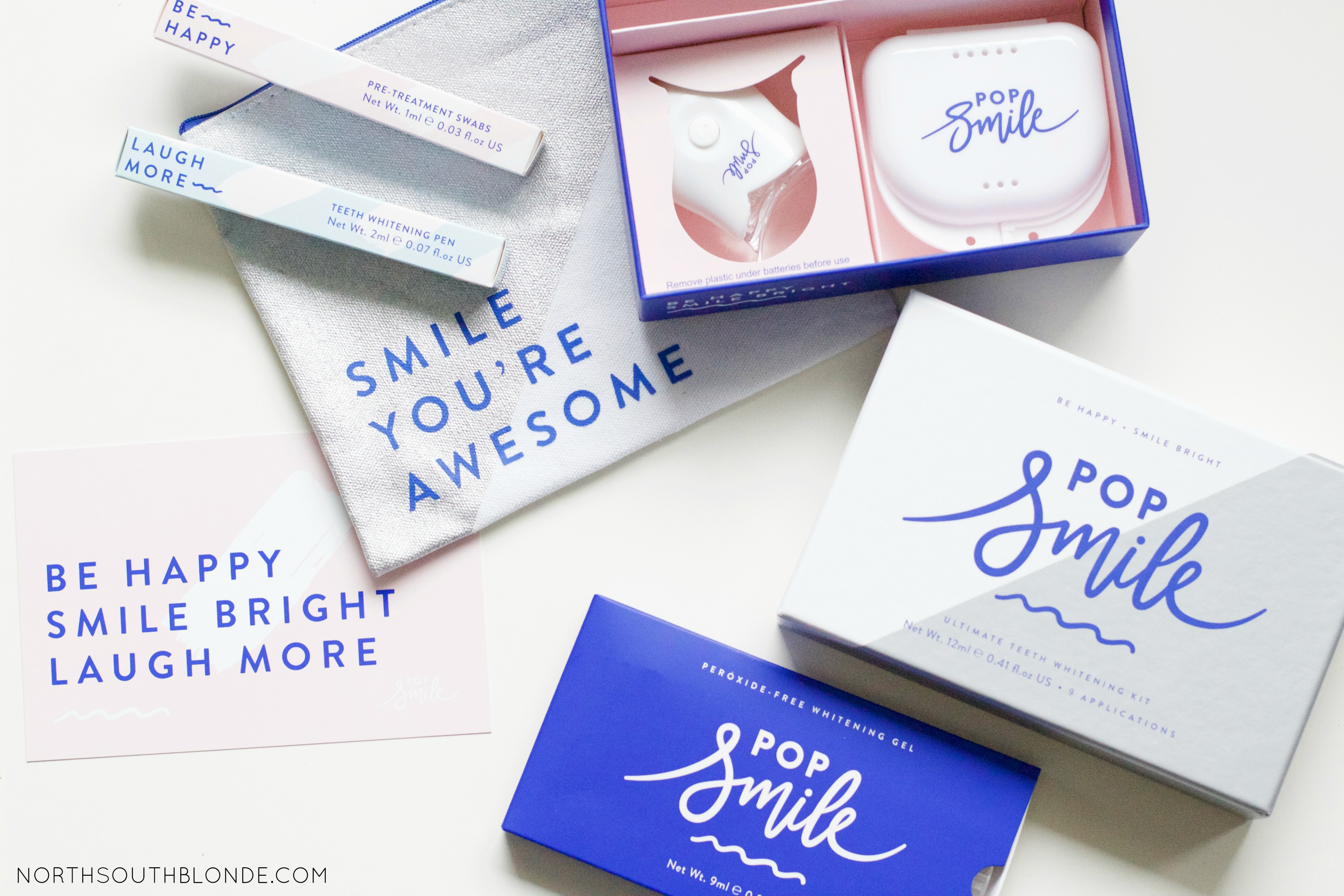 @northsouthblonde's cover photo for 'How to Get Whiter and Brighter Teeth Naturally - Pop Smile Review'
