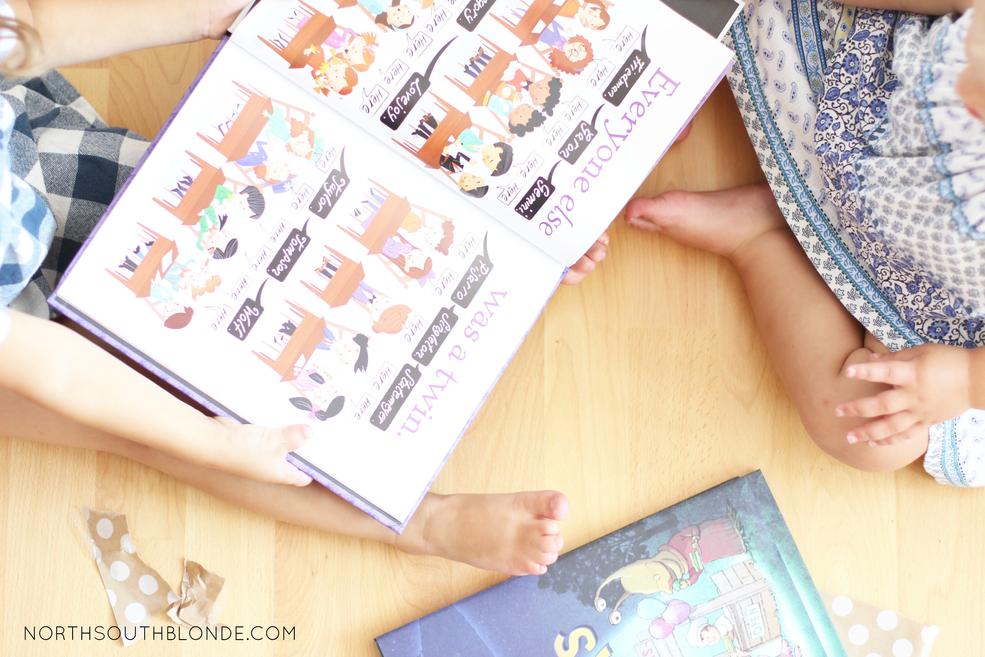 @northsouthblonde's cover photo for 'Bookroo - Children's Books (Unboxing) - North South Blonde'
