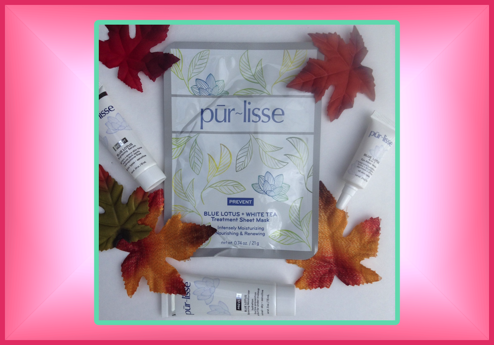 @eandnblog's cover photo for 'Pur~lisse Blue Lotus Quick Review - Everything & Nothin''