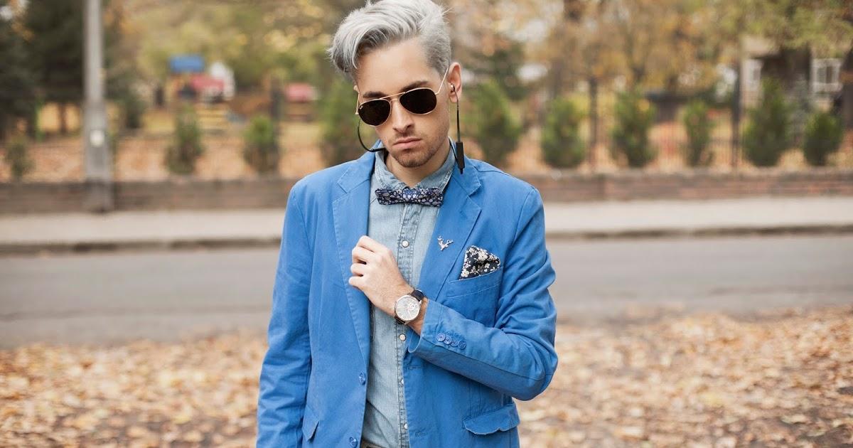 @daro_mnswr's cover photo for '<center> Blue blazer x sudio earphones </center>'