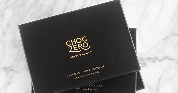 @rolalaloves's cover photo for 'ChocZero Is Sugarfree Chocolate That Tastes Good'
