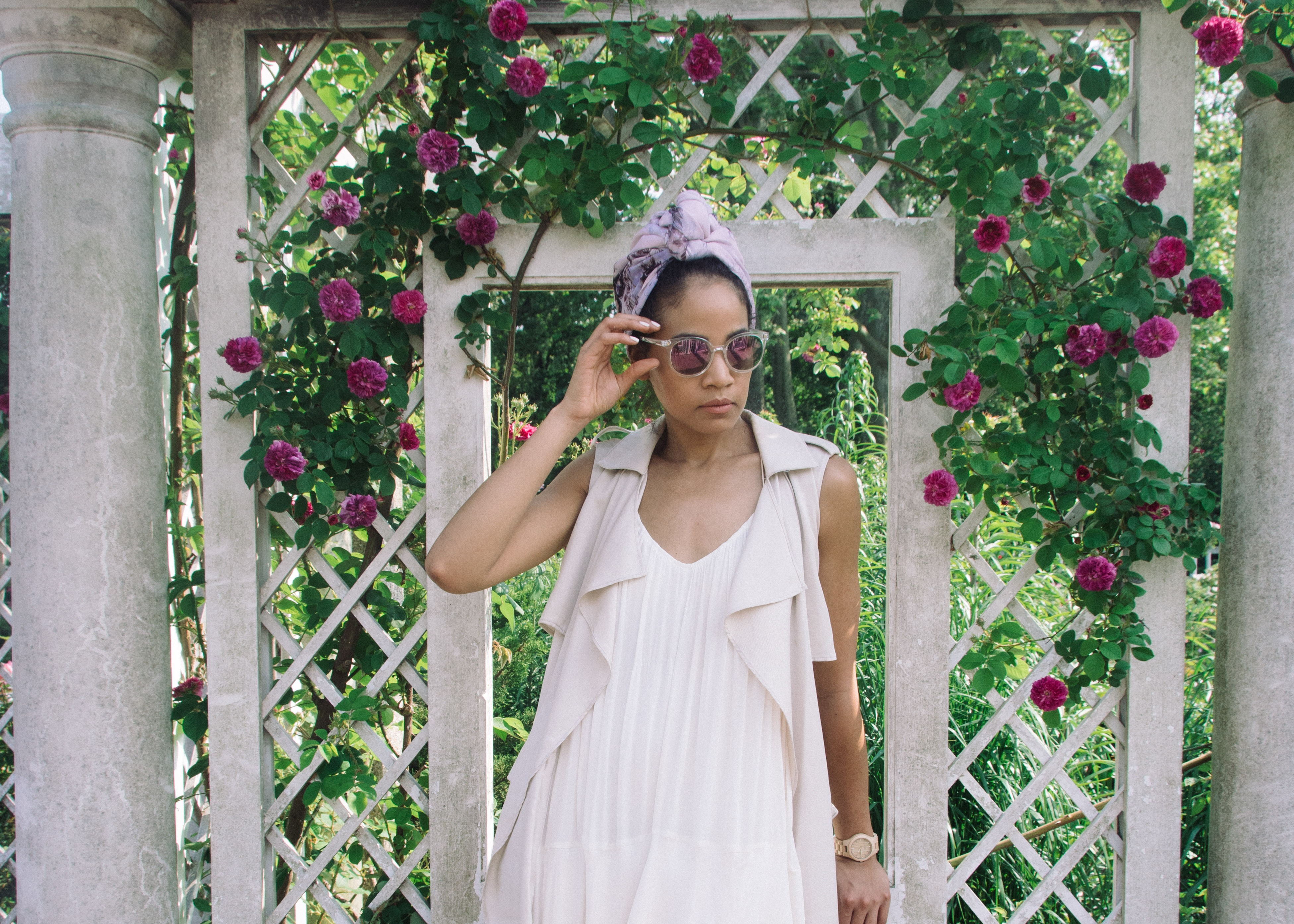 @stylishflaneuse's cover photo for 'Brooklyn's Own Tropical Urban Oasis'