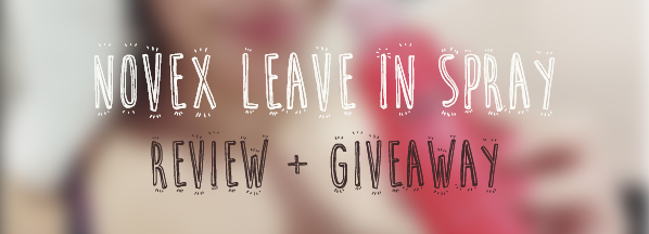 @moony_mii's cover photo for 'Novex Leave In Spray | Brazilian Keratin | Review + Giveaway'