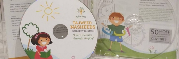 @bybreharne's cover photo for 'Olive Tree Study's Arabic Tajweed Nasheeds Nursery Rhyme CD - Review | by breharne'
