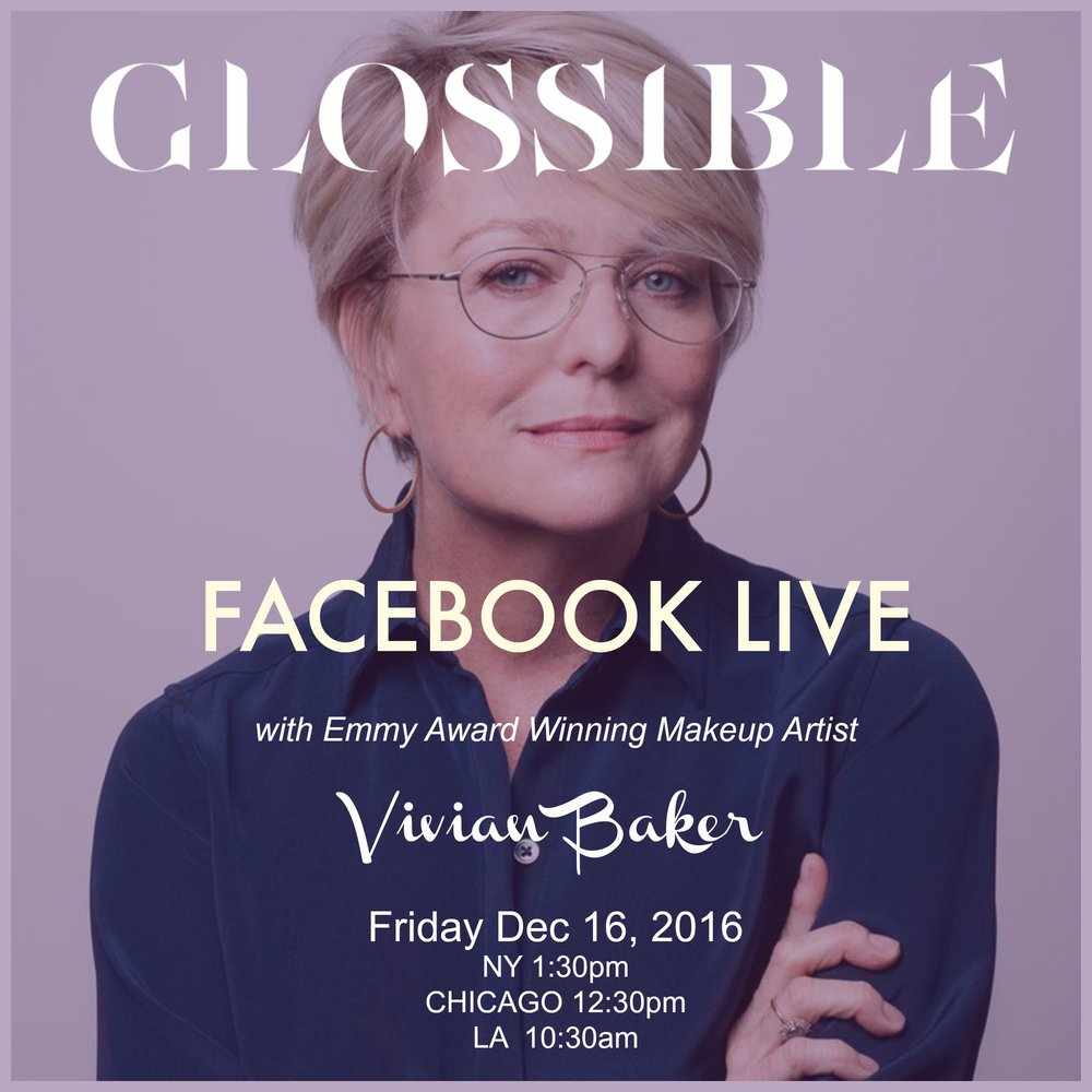 @soniarosellibeauty's cover photo for 'FACEBOOK LIVE WITH VIVIAN BAKER'