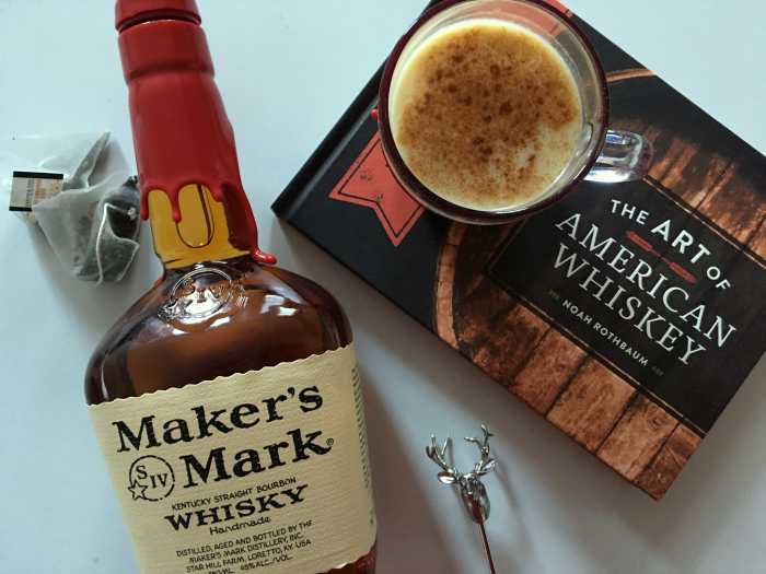 @sparklingcarla's cover photo for 'A Tea-Nog Toddy with Maker's Mark - Haute Cocktail'