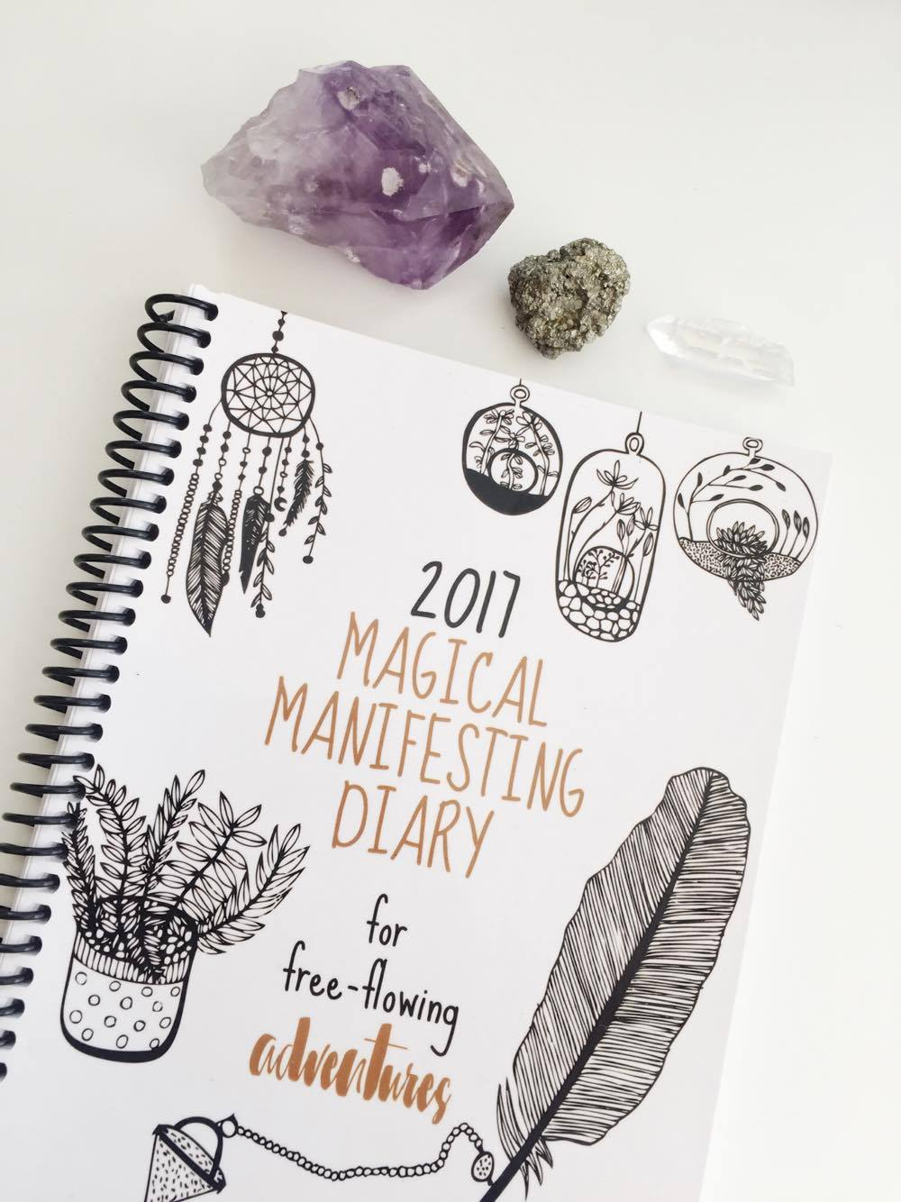 @_rileyreign's cover photo for '2017 Magical Manifesting Diary: for Free Flowing Adventures // Book Review - Spirit and soul blog'