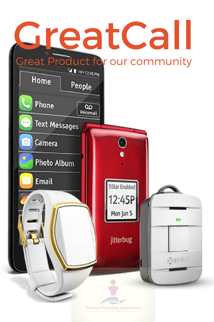 @ppscbus's cover photo for 'Great Product: GreatCall - Positive Parenting Specialized'