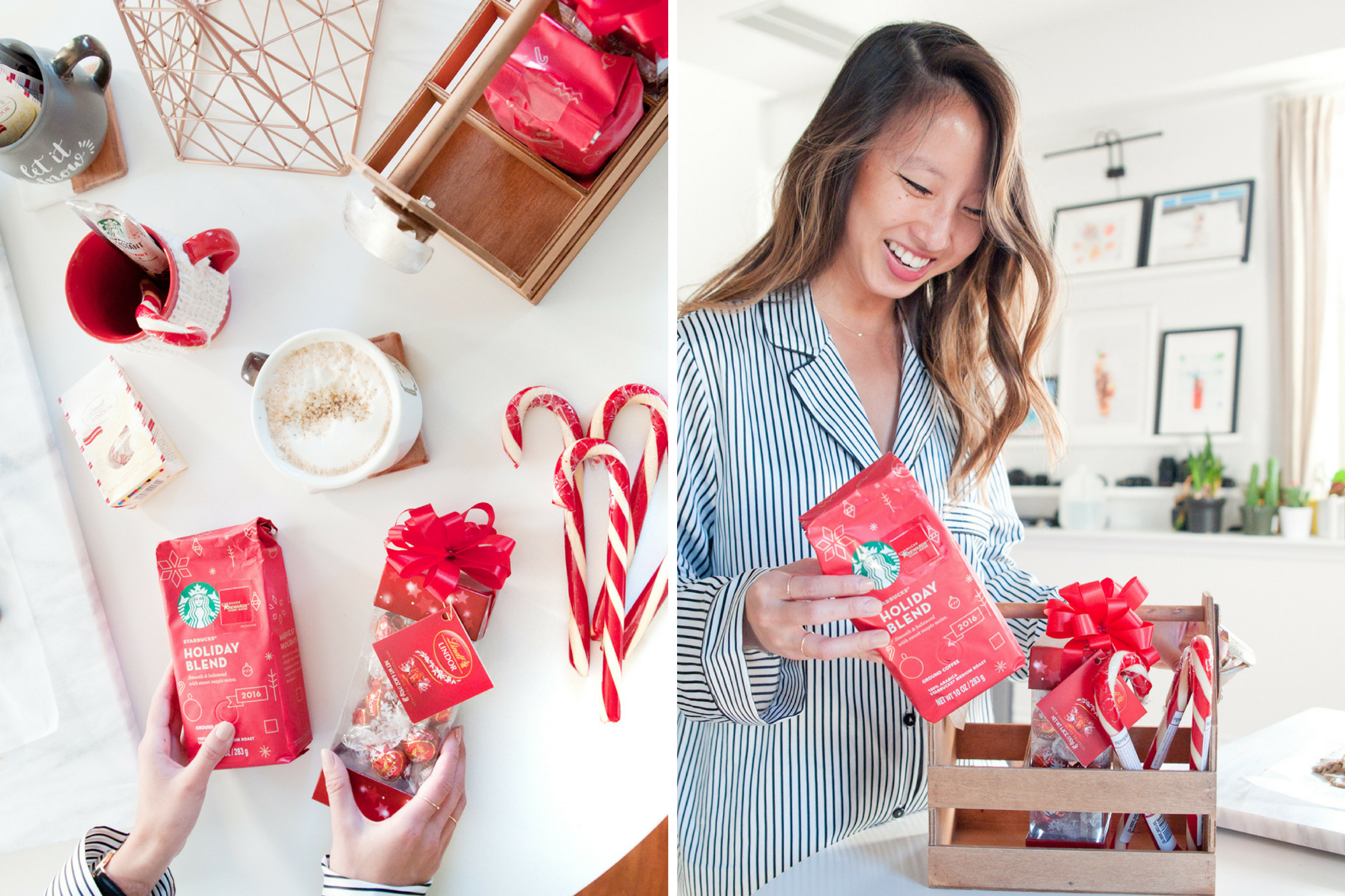 @atasteofkoko's cover photo for 'Holiday Gift Ideas With Starbucks Coffee & Lindt Chocolate'