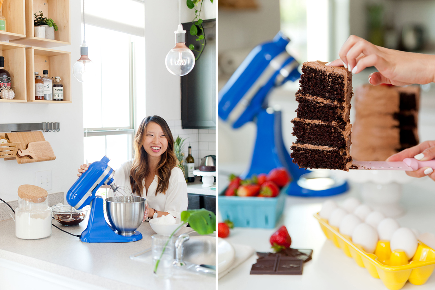 @atasteofkoko's cover photo for 'Best Chocolate Cake With The KitchenAid Artisan Mini'