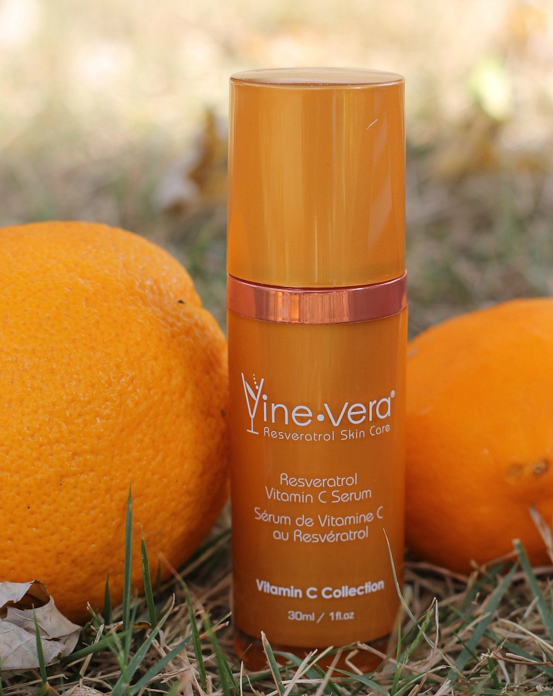 @tohellinahandbag's cover photo for 'Fall Skin Care Routine - Vine Vera Vitamin C - To Hell in a Handbag'
