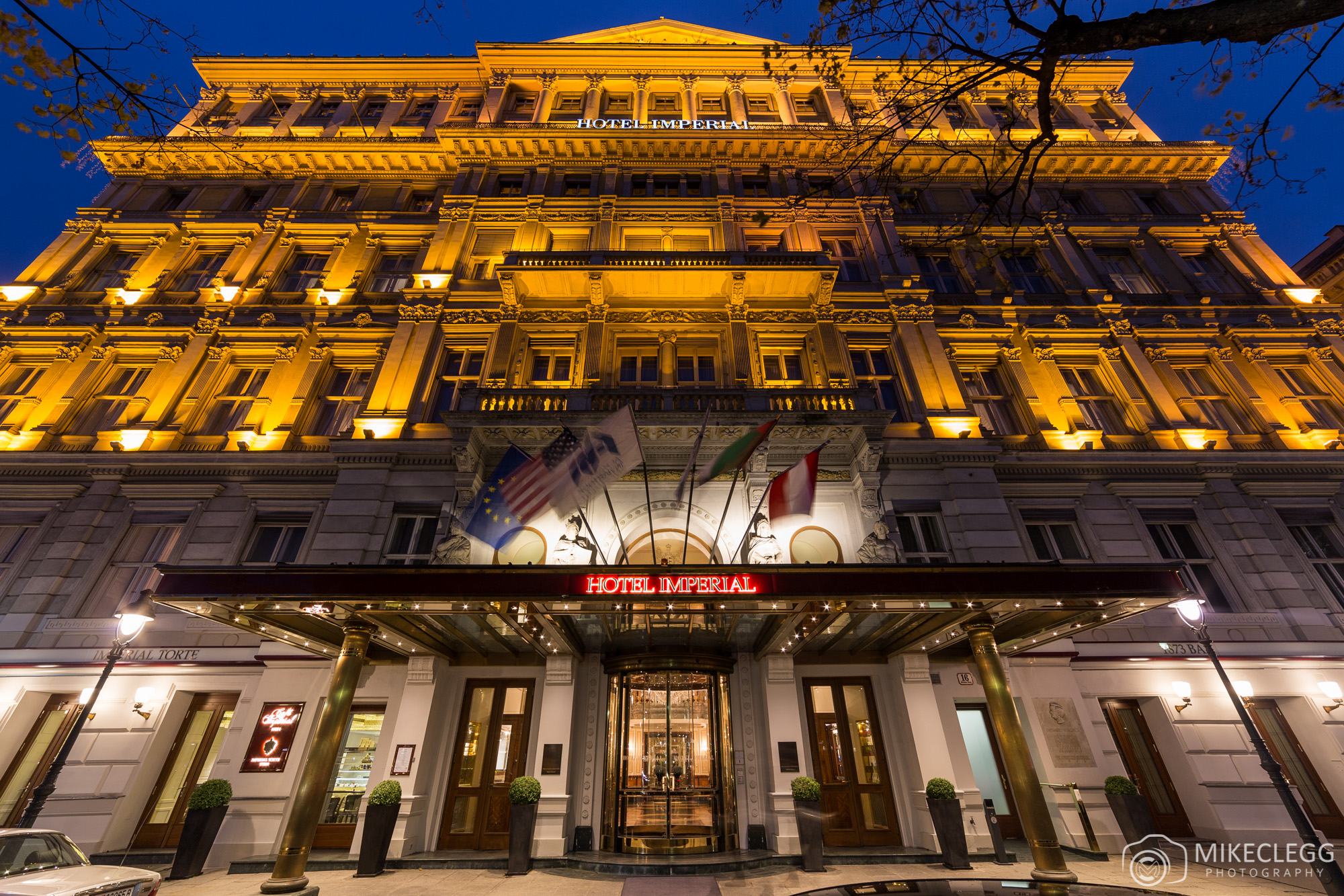 @mikecleggphoto's cover photo for 'A look inside the Hotel Imperial Vienna'