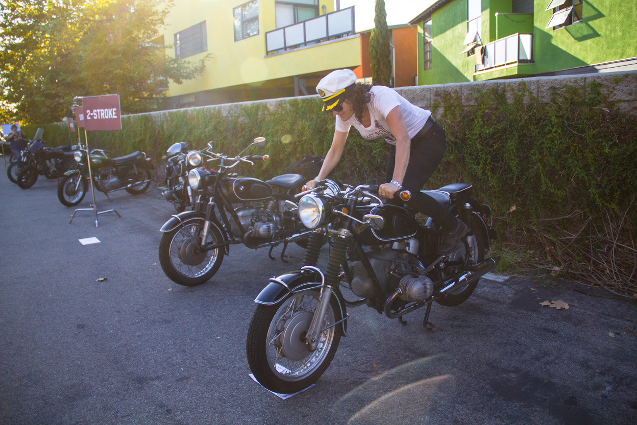@motolady's cover photo for 'VVMC Rally in Venice Beach – Moto Lady'