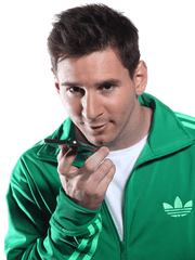 @fortresszar's cover photo for 'Lionel Messi suggests WeChat – sponsored by Spreaditfast'