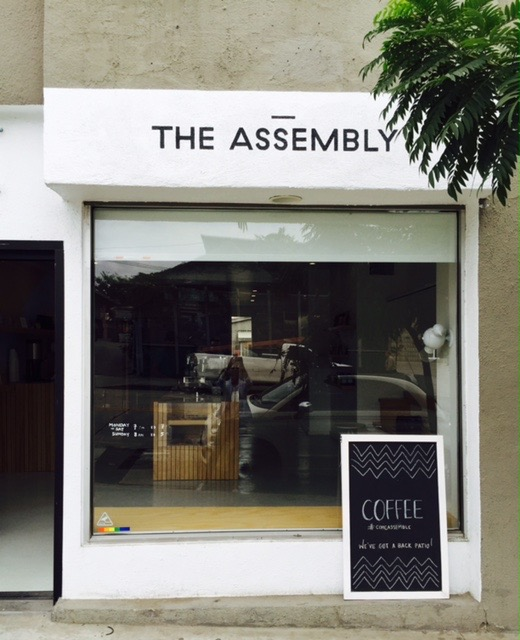 @janetgunngratefulgardenia's cover photo for 'THE ASSEMBLY - Coffee That Cares'