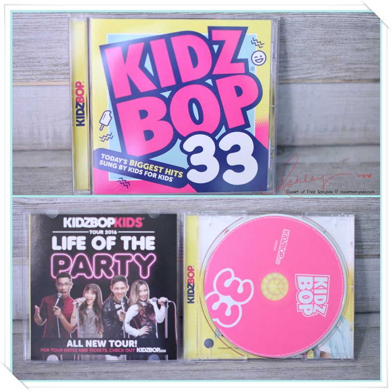 """@closetsamples's cover photo for 'We """"Can't Stop the Feeling!"""" Kidz Bop 33 is Here!'"""